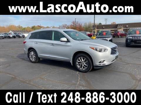 2014 Infiniti QX60 for sale at Lasco of Waterford in Waterford MI