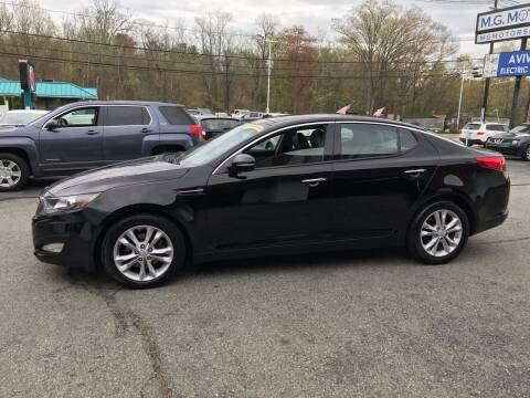 2013 Kia Optima for sale at M G Motors in Johnston RI