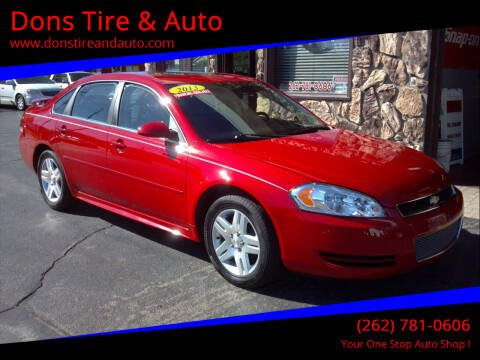 2013 Chevrolet Impala for sale at Dons Tire & Auto in Butler WI