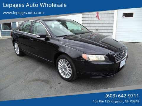 2007 Volvo S80 for sale at Lepages Auto Wholesale in Kingston NH