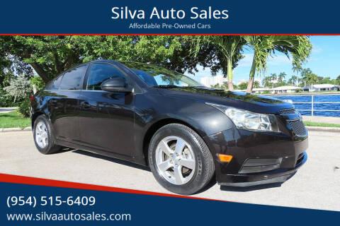 2013 Chevrolet Cruze for sale at Silva Auto Sales in Pompano Beach FL