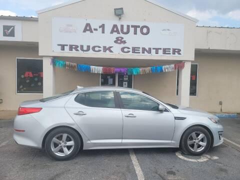 2014 Kia Optima for sale at A-1 AUTO AND TRUCK CENTER in Memphis TN