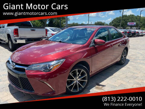 2015 Toyota Camry for sale at Giant Motor Cars in Tampa FL