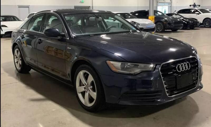 2012 Audi A6 for sale at Kingz Auto Sales in Avenel NJ