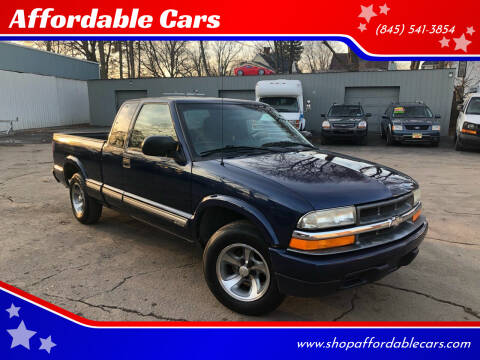 2001 Chevrolet S-10 for sale at Affordable Cars in Kingston NY