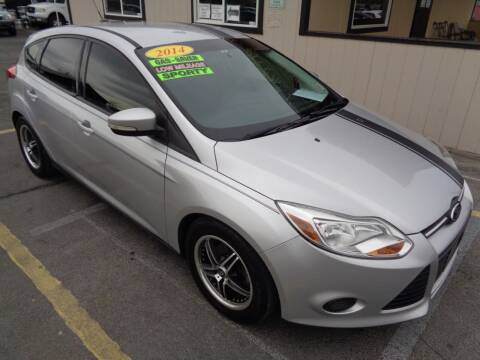 2014 Ford Focus for sale at BBL Auto Sales in Yakima WA