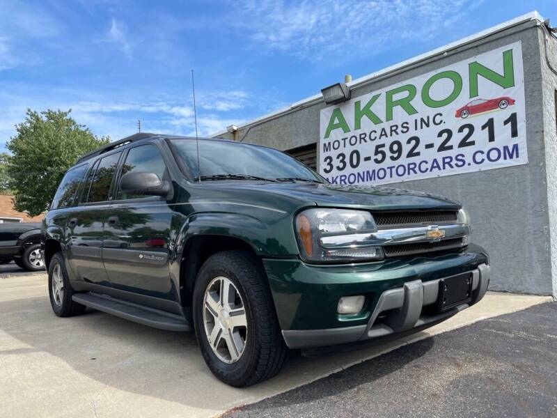 2004 Chevrolet TrailBlazer EXT for sale at Akron Motorcars Inc. in Akron OH