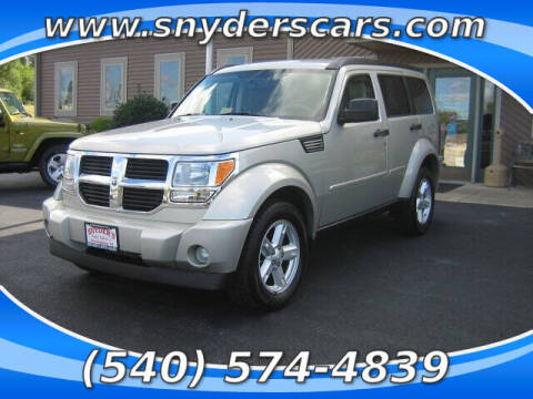 2008 Dodge Nitro for sale at Snyders Auto Sales in Harrisonburg VA