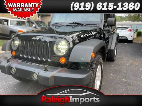 2009 Jeep Wrangler for sale at Raleigh Imports in Raleigh NC