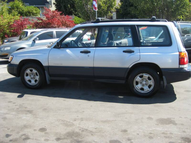 2000 Subaru Forester for sale at UNIVERSITY MOTORSPORTS in Seattle WA