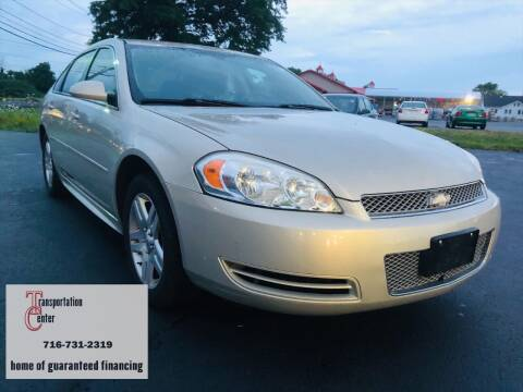 2012 Chevrolet Impala for sale at Transportation Center Of Western New York in Niagara Falls NY