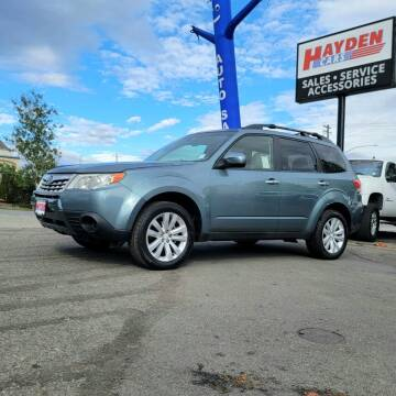 2012 Subaru Forester for sale at Hayden Cars in Coeur D Alene ID