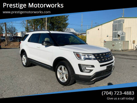 2017 Ford Explorer for sale at Prestige Motorworks in Concord NC