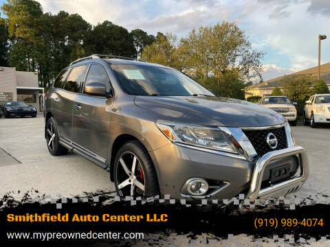 2015 Nissan Pathfinder for sale at Smithfield Auto Center LLC in Smithfield NC