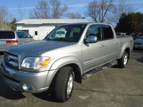 2005 Toyota Tundra for sale at NORTHLAND AUTO SALES in Dale WI