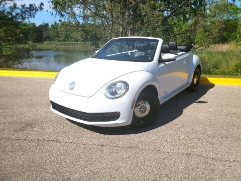 2013 Volkswagen Beetle Convertible for sale at Excalibur Auto Sales in Palatine IL