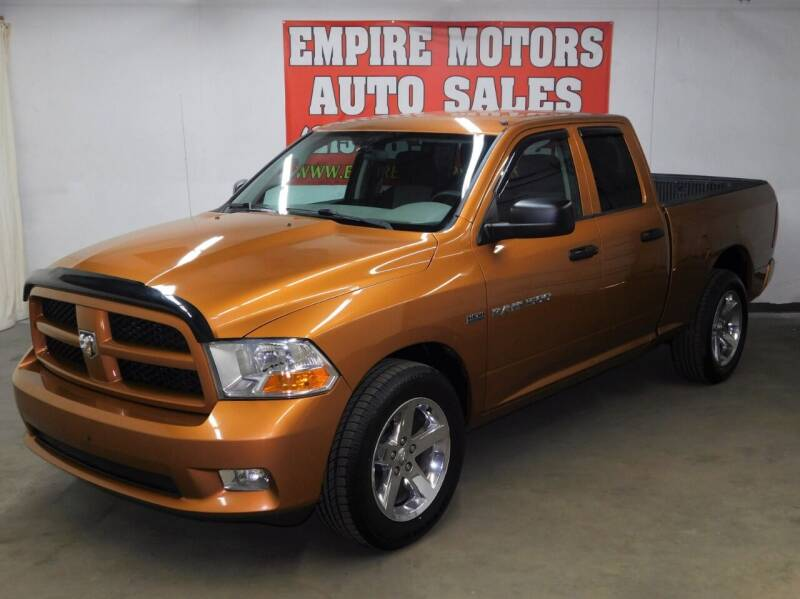 2012 RAM Ram Pickup 1500 for sale at EMPIRE MOTORS AUTO SALES in Philadelphia PA