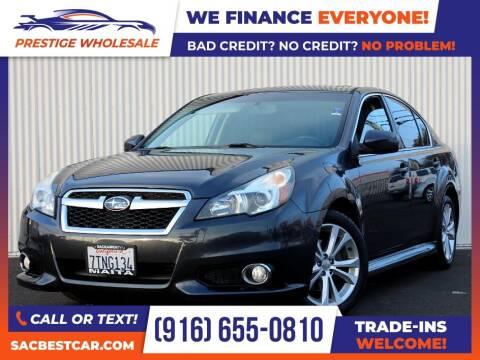 2013 Subaru Legacy for sale at Prestige Wholesale in Sacramento CA