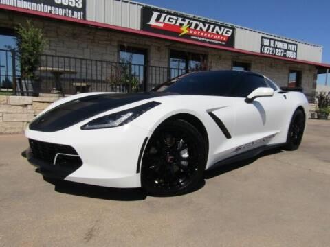 2015 Chevrolet Corvette for sale at Lightning Motorsports in Grand Prairie TX