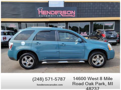 2008 Chevrolet Equinox for sale at Henderson Automotive, LLC in Oak Park MI