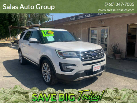 2017 Ford Explorer for sale at Salas Auto Group in Indio CA