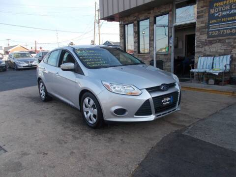 2013 Ford Focus for sale at Preferred Motor Cars of New Jersey in Keyport NJ