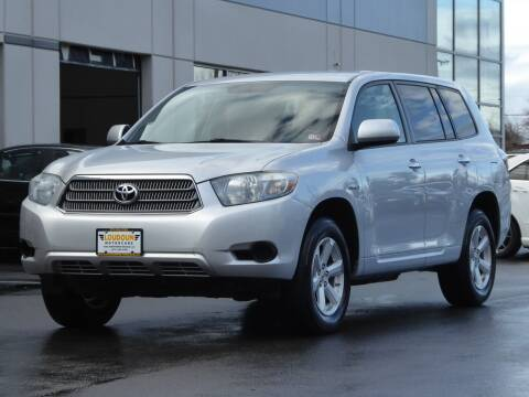 2009 Toyota Highlander Hybrid for sale at Loudoun Used Cars - LOUDOUN MOTOR CARS in Chantilly VA
