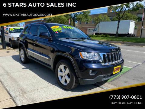 2011 Jeep Grand Cherokee for sale at 6 STARS AUTO SALES INC in Chicago IL