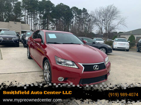 2013 Lexus GS 350 for sale at Smithfield Auto Center LLC in Smithfield NC