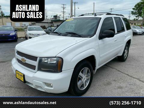 2006 Chevrolet TrailBlazer for sale at ASHLAND AUTO SALES in Columbia MO