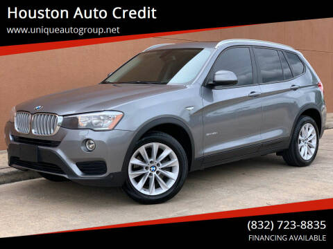 2017 BMW X3 for sale at Houston Auto Credit in Houston TX