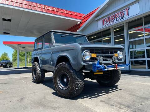 1972 Ford Bronco for sale at Furrst Class Cars LLC  - Independence Blvd. in Charlotte NC