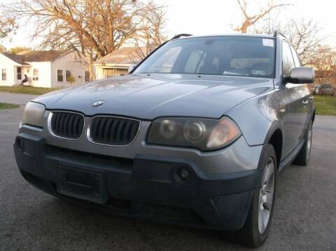 2004 BMW X3 for sale at Pary's Auto Sales in Garland TX