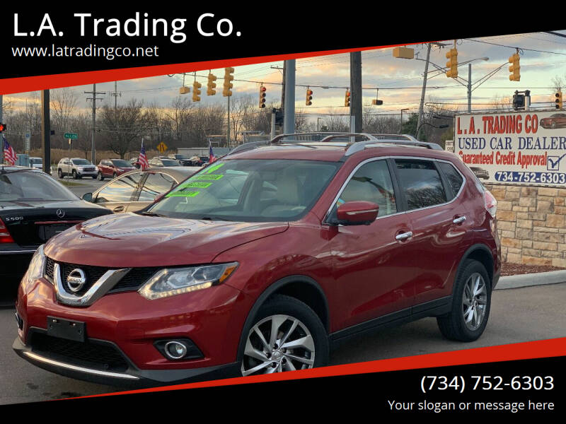 2014 Nissan Rogue for sale at L.A. Trading Co. Woodhaven in Woodhaven MI
