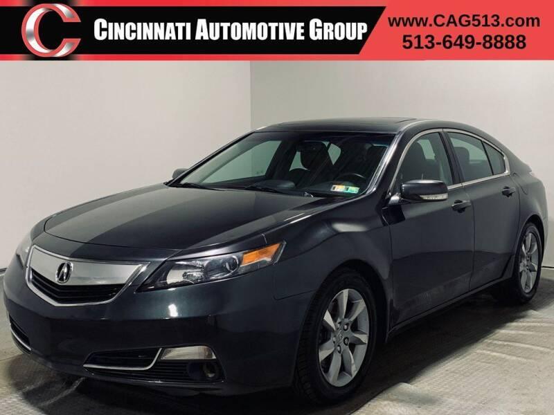 2012 Acura TL for sale at Cincinnati Automotive Group in Lebanon OH