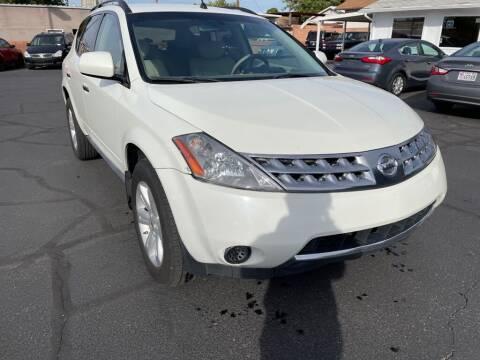 2007 Nissan Murano for sale at Robert Judd Auto Sales in Washington UT