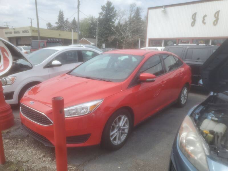 2016 Ford Focus for sale at J & J Used Cars inc in Wayne MI