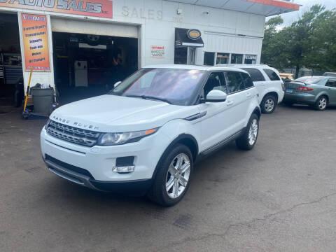 2014 Land Rover Range Rover Evoque for sale at Vuolo Auto Sales in North Haven CT