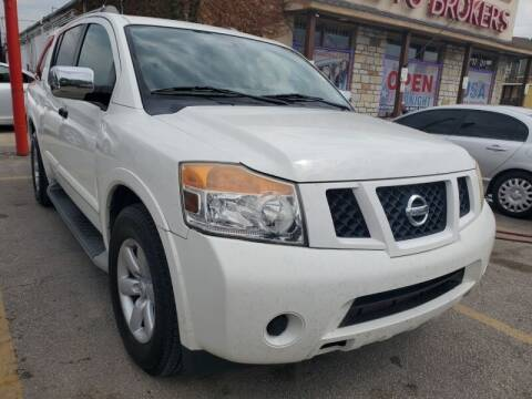 2010 Nissan Armada for sale at USA Auto Brokers in Houston TX