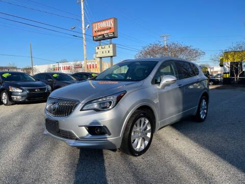 2017 Buick Envision for sale at Autohaus of Greensboro in Greensboro NC