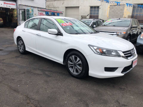 2015 Honda Accord for sale at Riverside Wholesalers 2 in Paterson NJ