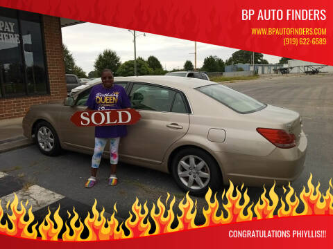 2008 Toyota Avalon for sale at BP Auto Finders in Durham NC