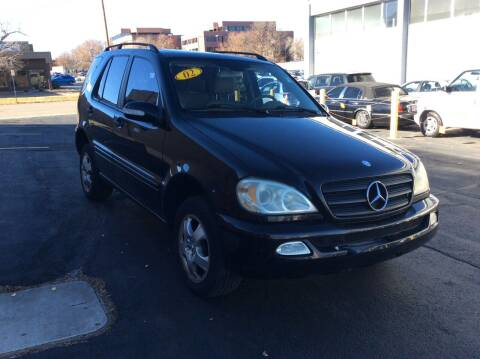2002 Mercedes-Benz M-Class for sale at AROUND THE WORLD AUTO SALES in Denver CO