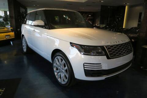 2018 Land Rover Range Rover for sale at OC Autosource in Costa Mesa CA