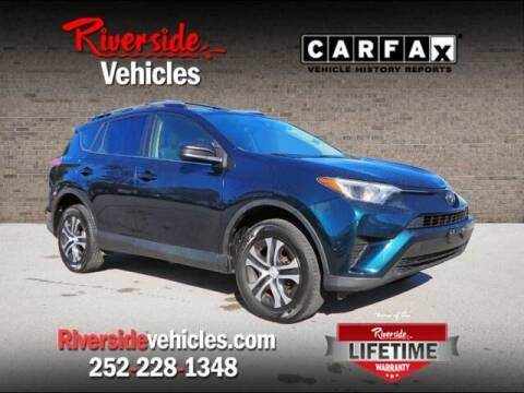 2017 Toyota RAV4 for sale at Riverside Mitsubishi(New Bern Auto Mart) in New Bern NC