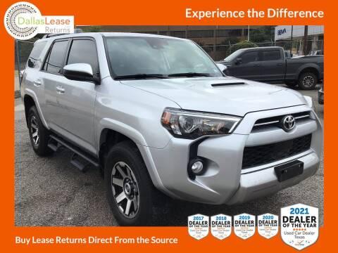 2020 Toyota 4Runner for sale at Dallas Auto Finance in Dallas TX