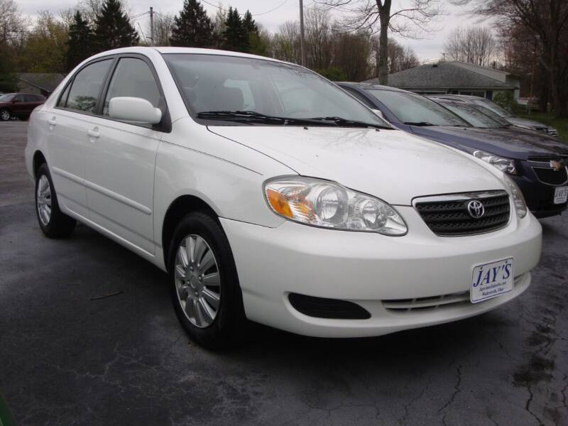 2007 Toyota Corolla for sale at Jay's Auto Sales Inc in Wadsworth OH