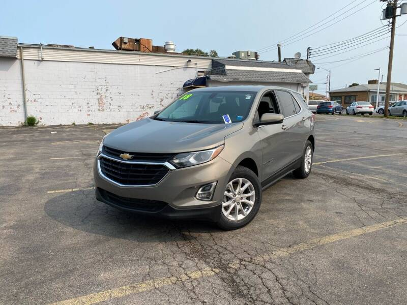 2018 Chevrolet Equinox for sale at Santa Motors Inc in Rochester NY