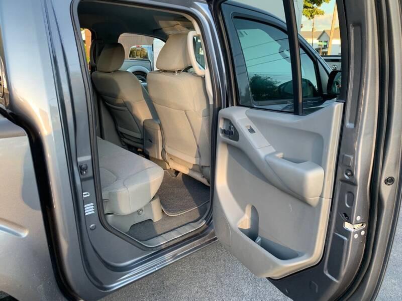 2019 Nissan Frontier 4x4 SV 4dr Crew Cab 5 ft. SB 5A - Uniontown PA