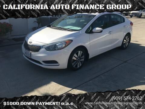 2015 Kia Forte for sale at CALIFORNIA AUTO FINANCE GROUP in Fontana CA